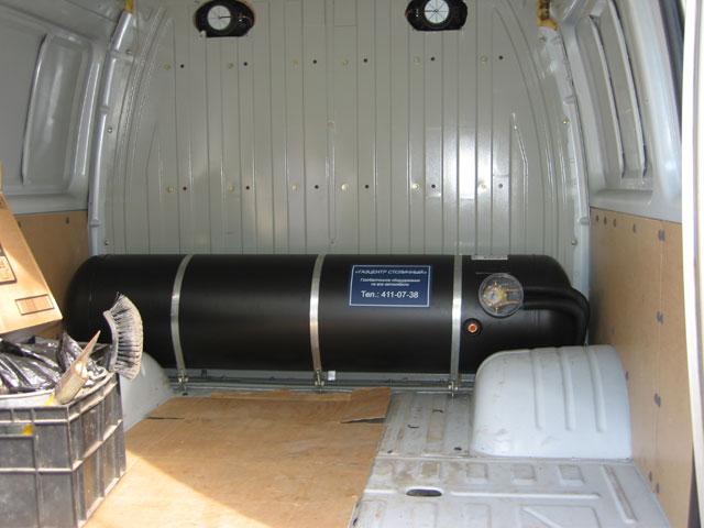 Установка газового оборудования на газель своими руками 97
